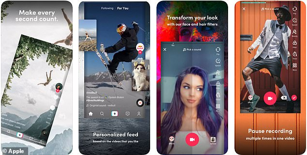 Tik Tok lets users live stream or create music videos and Gifs to share with their followers