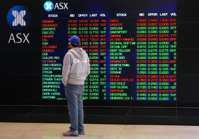 © Reuters.  Australia shares higher at close of trade; S&P/ASX 200 up 1.74%