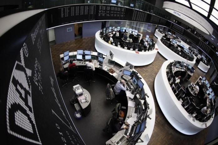 © Reuters.  Germany shares lower at close of trade; DAX down 1.78%