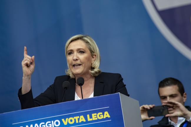 © Bloomberg. Marine Le Pen Photographer: Francesca Volpi/Bloomberg