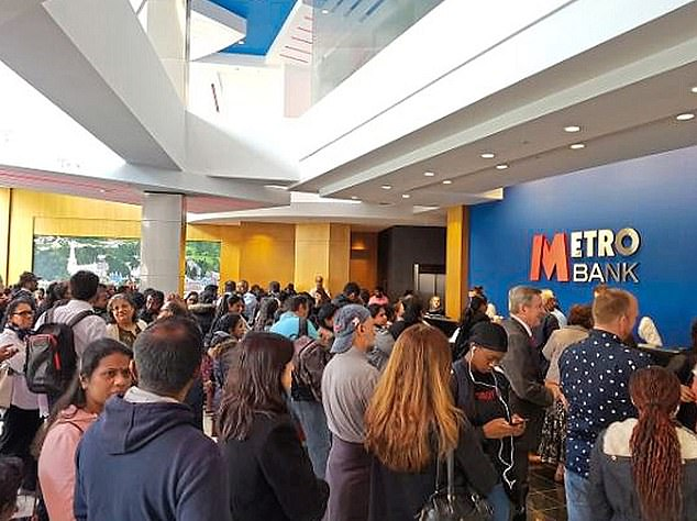 Metro Bank's difficult 2019 came to a head when rumours that circulated on social media led to fears of a bank run, with customers in one branch queuing to pull their money out