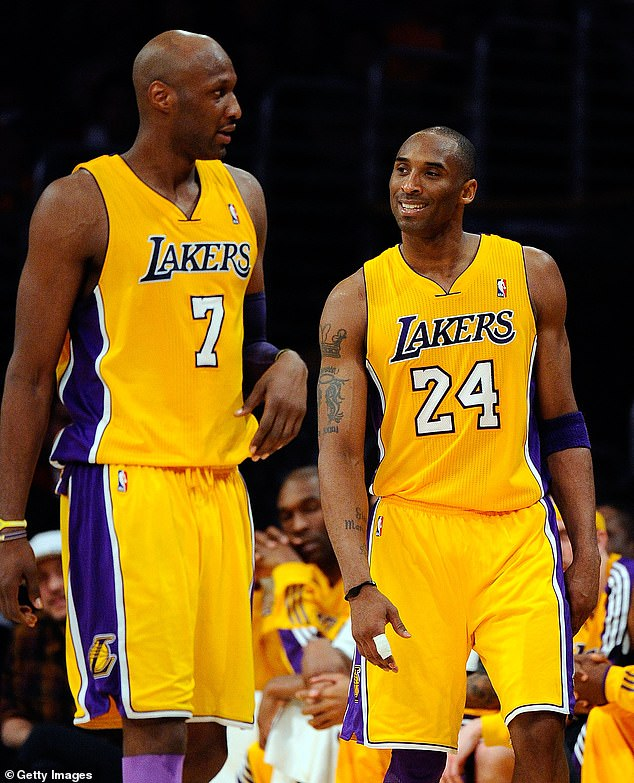 In recent years, Odom has described Kobe Bryant, his Lakers teammate, as the most stable father figure in his life