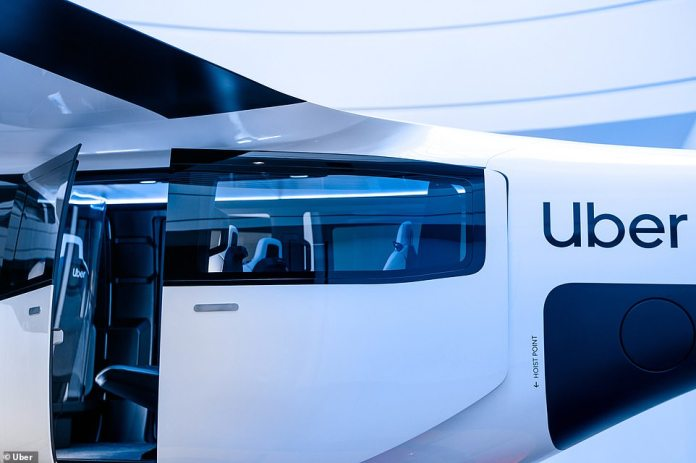 Uber Debuts Its New Flying Taxis That Can Seat Up To Four