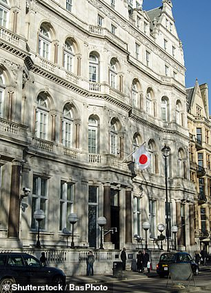 Japan is among the worst offenders, will diplomats accruing over £8million in fines
