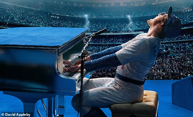 BONNIE ESTRIDGE: In other news, I went to see the Elton John biopic, Rocketman, last week (pictured)