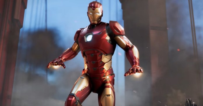 Iron Man is in The Avengers game.