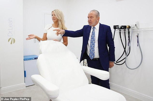 Help: Dr. Leah says Lord Sugar holds regular board meetings and offers advice to all the winners of The Apprentice