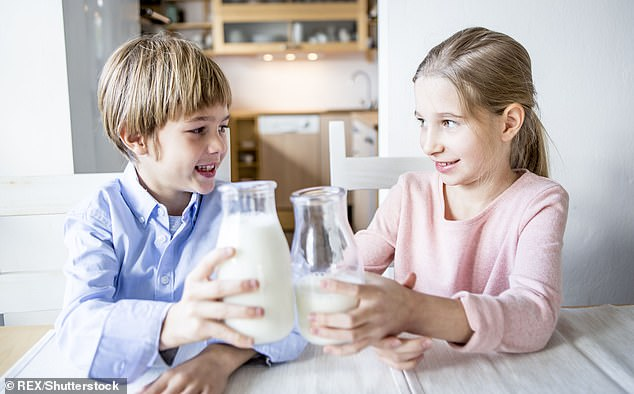 One-in-five children never drink milk ¿ even on cereal ¿ but more than a third drink a can of fizzy pop every day, a study has found [File photo]
