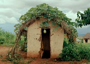 A village latrine.