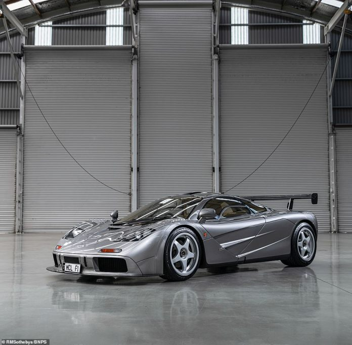 The McLarenis now the third most expensive British-built car to go under the hammer in history