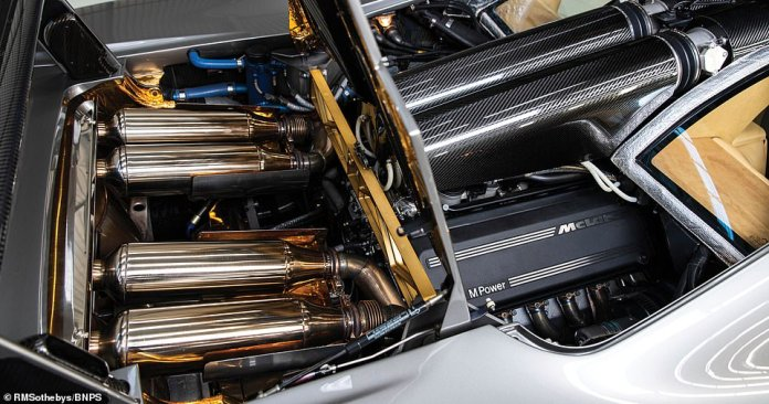 Better heat management of the engine means the BMW-developed V12 engine car run at peak performance levels for longer periods of time
