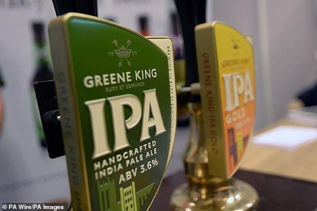 Greene King makes the Old Speckled, Abbot Ale and Green King IPA beers at its two breweries