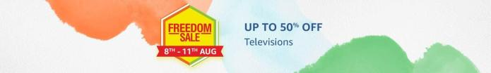 Up to 50% OFF On TVs