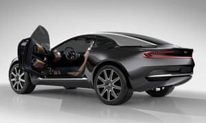 The new Aston Martin DBX model