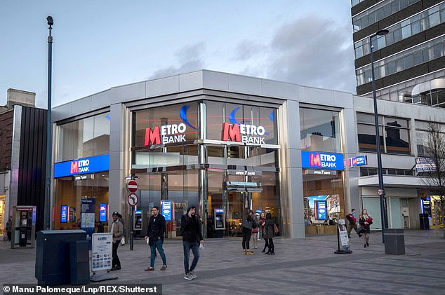 Metro Bank was named the highest-rated current account provider in a survey published by the UK's competition watchdog, along with HSBC-owned First Direct