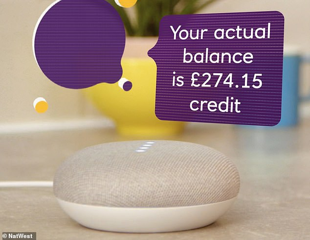 NatWest has partnered with Google for a three month trial involving 500 customers that will allow them to use a Google Home smart speaker for various banking tasks