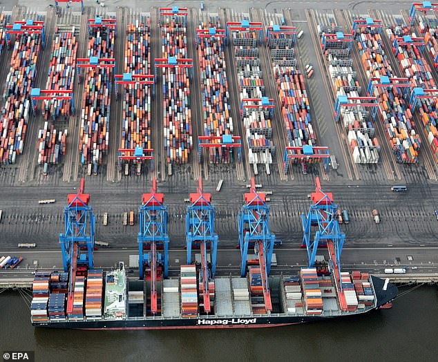 Economic turmoil has caused exports to Germany to plunge by an average of 15%