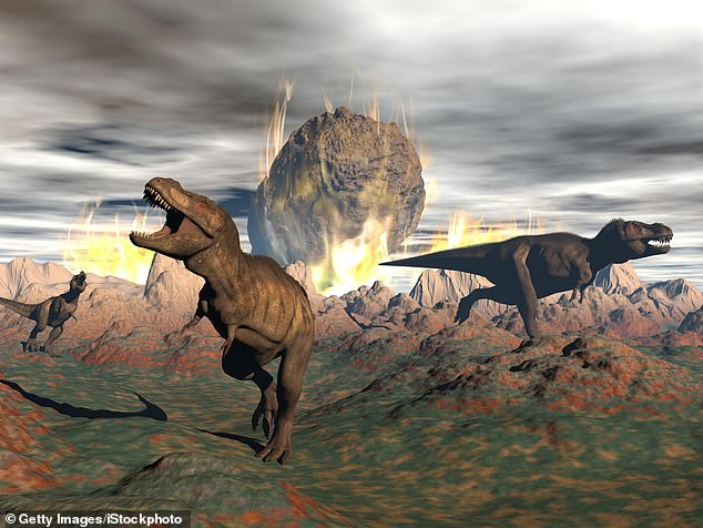 The world was almost destroyed by wildfires, tsunamis and huge clouds of sulphur the day after the asteroid that killed the dinosaurs hit, according to research. Artist's impression