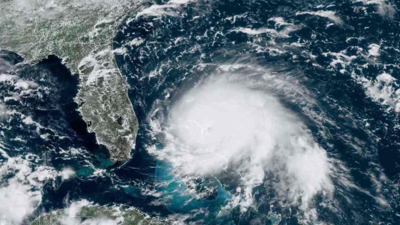 Satellites capture swirling vortex of lightning storms around Hurricane Dorian