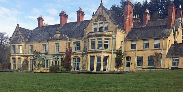 The fund appears to be named after the village of Morebath in North Devon, where he owns a 9 bedroom house (pictured) and 21 acres of parkland