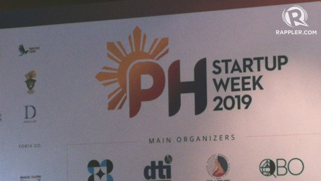 PH STARTUP WEEK. Fifteen startups are showcased on Tuesday, November 19, during  the Philippine Startup Week 2019. Photo by Gelo Gonzales/Rappler