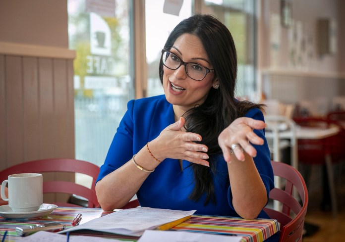 Priti Patel says she agonises over serious decisions of life and death