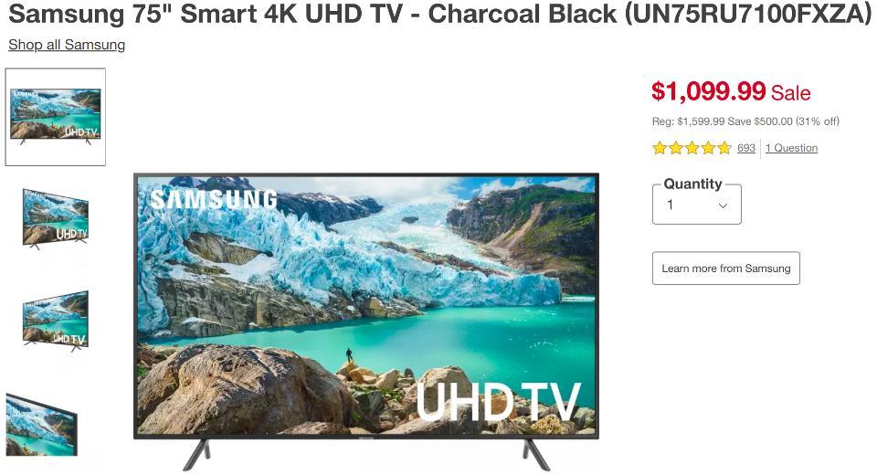 Target Black Friday TV deals, best Black Friday TV deals