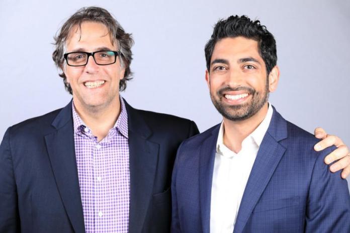 Joel Scott and Rahim Fazal, the founders of SV Academy.