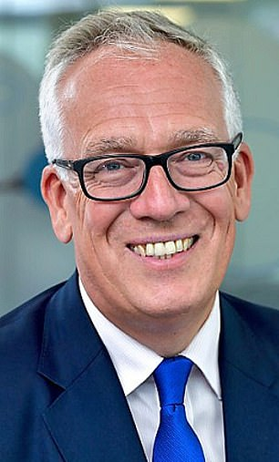 TSB chairman Richard Meddings (pictured_ was accused of the issuing a 'hollow' apology because he refused to accept all the findings in a report they paid for