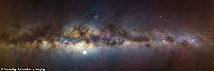 Aboriginal residents of Australia would have seen one of the supernova explosions as it happened 9,000 years ago. This image shows what it would have looked like amongst the Milky Way from the Pinnacles Desert in Western Australia