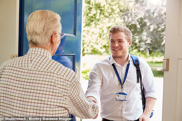 Leading doctors are calling for the removal of home visits from their contracts because 'they are too time consuming' (file)