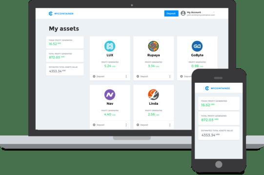 MyCointainer platform