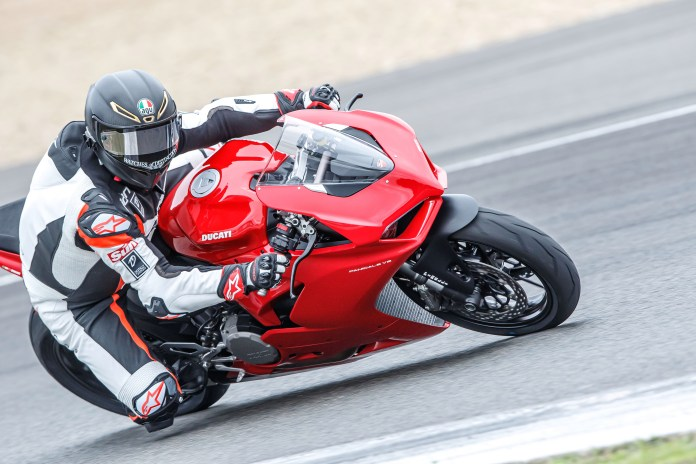 The easygoing Ducati V2 Panigale will help you hone your big bike-riding skills, without any nasty surprises