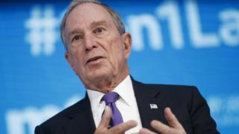 File image of Michael Bloomberg, April 2018