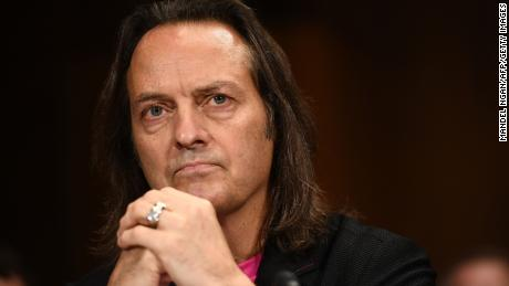 T-Mobile CEO John Legere in talks to take over top job at WeWork