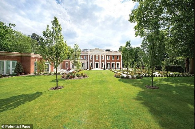 The £22million home that is currently being advertised on the Property Pads website