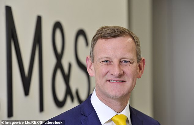 'Potential': M&S chief executive Steve Rowe