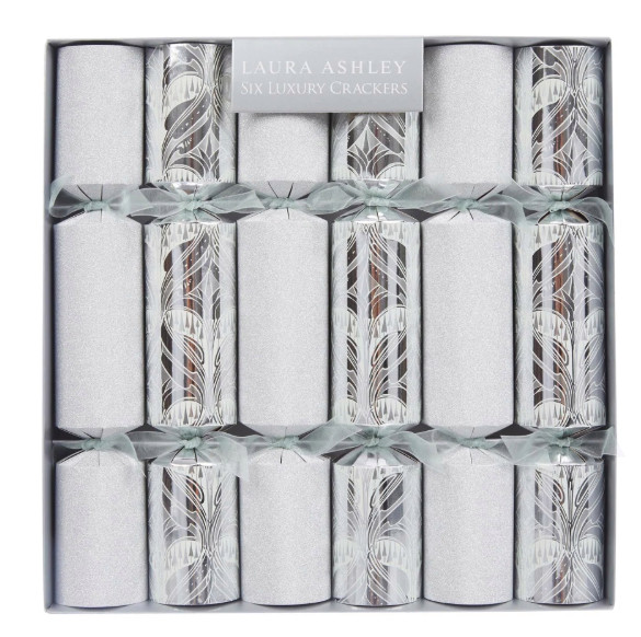 Laura Ashley's Christmas crackers are a whopping £14