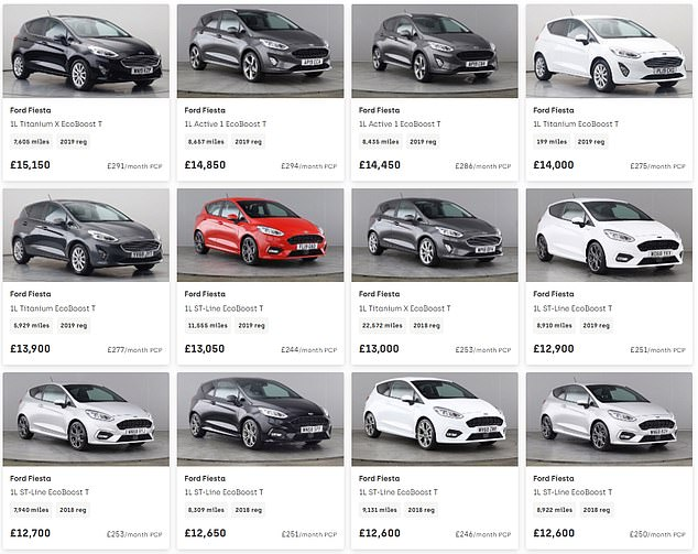 A specialist team of buyers select vehicles fromauctions, dealerships, leasing companies and manufacturers and concentrates on volume-selling models, like the Ford Fiesta
