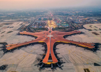The hi-tech features at Beijing's new Daxing International Airport