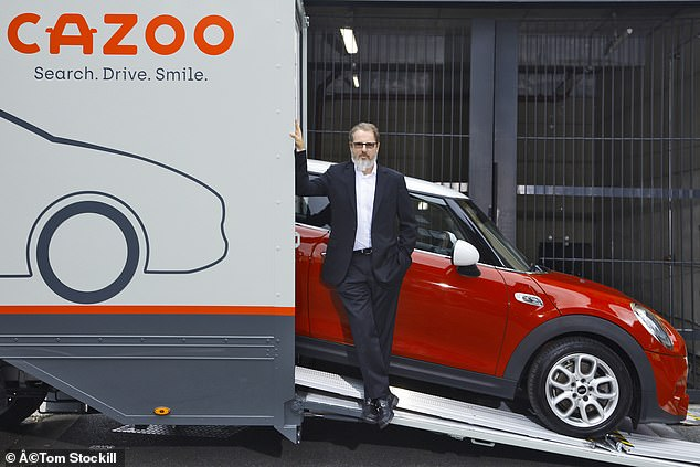 Founder of Cazoo, Alex Chesterman (pictured), promises that the service will offer consumers better selection, value, convenience and quality when buying a used car