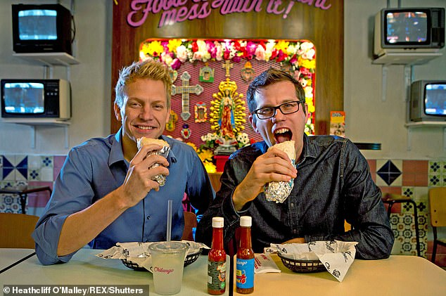 Chilango co-founders Eric Partaker and Dan Houghton. The two emailed shareholders Friday night asking them to approve a package of restructuring measures