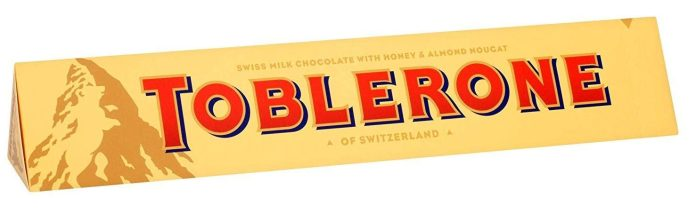 The Toblerone bars only cost £3 from Poundland