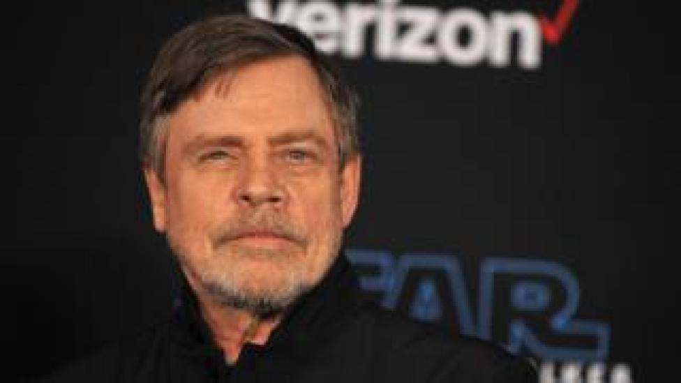 Actor Mark Hamill at the premiere of Star Wars: The Rise of Skywalker