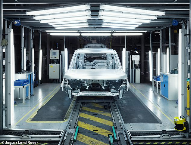 It also announced full day and half day halts to assembly lines until the end of March at the Castle Bromwich and Solihull vehicle plants in the West Midlands