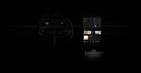 Polestar Precept new touchscreen tech