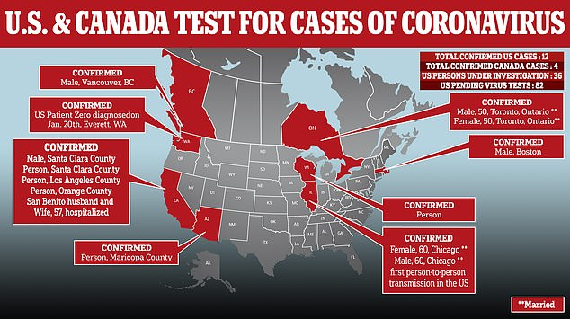 Wisconsin reports first coronavirus case, bringing US total to ...