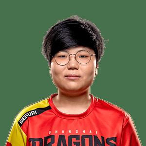Se-yeon 'Geguri' Kim of the Shanghai Dragons