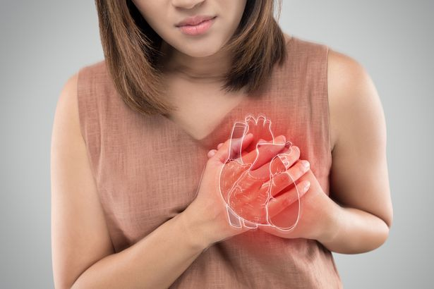 People with a high cholesterol can suffer a heart attack when the body becomes overwhelmed