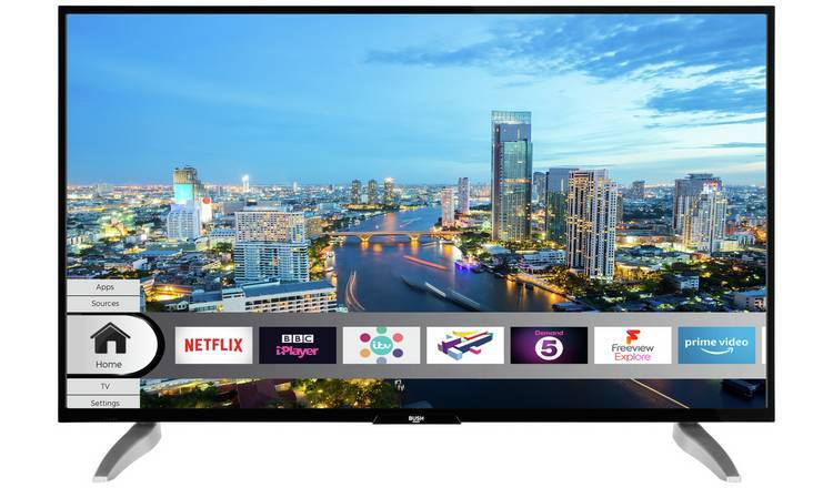 ...when you can get this Bush HDR UHD 4K TV, as good and for £249.99